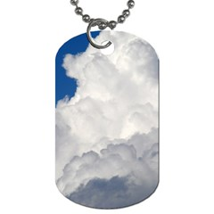 Big Fluffy Cloud Dog Tag (two Sides) by trendistuff