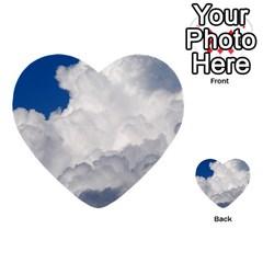 BIG FLUFFY CLOUD Multi-purpose Cards (Heart)