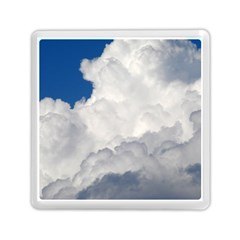 BIG FLUFFY CLOUD Memory Card Reader (Square)  by trendistuff