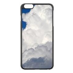 Big Fluffy Cloud Apple Iphone 6 Plus/6s Plus Black Enamel Case by trendistuff