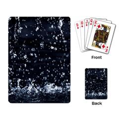 Autumn Rain Playing Card by trendistuff