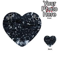 Autumn Rain Playing Cards 54 (heart)  by trendistuff