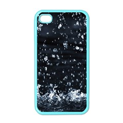 Autumn Rain Apple Iphone 4 Case (color) by trendistuff