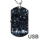 AUTUMN RAIN Dog Tag USB Flash (Two Sides)  Front