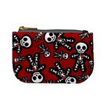 Cute Skeleton Pattern Coin Change Purse Front