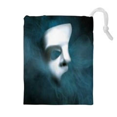 Phantom Mask Drawstring Pouches (extra Large)