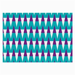 Peaks Pattern Large Glasses Cloth (2 Sides) by LalyLauraFLM