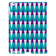 Peaks Pattern Apple Ipad 3/4 Hardshell Case (compatible With Smart Cover) by LalyLauraFLM