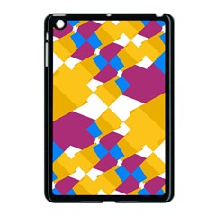 Layered Shapes Apple Ipad Mini Case (black) by LalyLauraFLM
