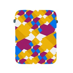 Layered Shapes Apple Ipad 2/3/4 Protective Soft Case by LalyLauraFLM