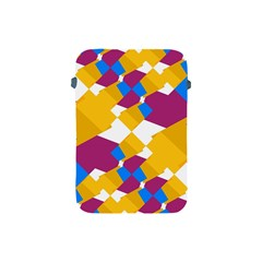 Layered Shapes Apple Ipad Mini Protective Soft Case by LalyLauraFLM