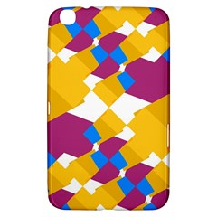 Layered Shapes Samsung Galaxy Tab 3 (8 ) T3100 Hardshell Case  by LalyLauraFLM