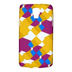 Layered Shapes Samsung Galaxy S4 Active (i9295) Hardshell Case by LalyLauraFLM
