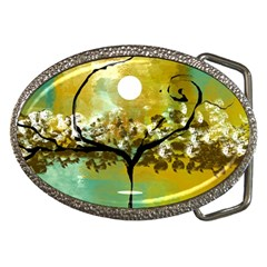 She Open s To The Moon Belt Buckles by theunrulyartist