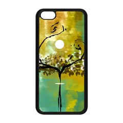She Open s To The Moon Apple Iphone 5c Seamless Case (black) by theunrulyartist