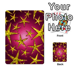 Star Burst Multi Purpose Cards (rectangle)