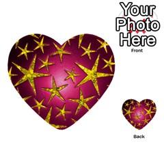 Star Burst Multi Purpose Cards (heart)