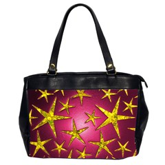 Star Burst Office Handbags (2 Sides)  by essentialimage