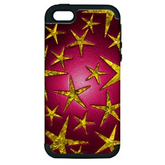 Star Burst Apple Iphone 5 Hardshell Case (pc+silicone) by essentialimage