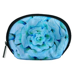 Blue Flower Accessory Pouches (medium)  by BubbSnugg