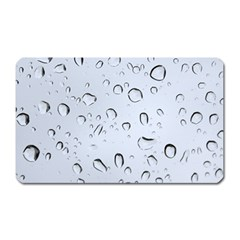 WATER DROPS 2 Magnet (Rectangular) by trendistuff