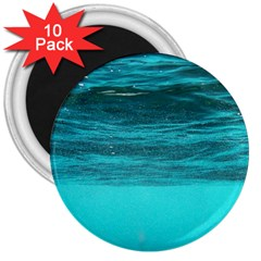 Underwater World 3  Magnets (10 Pack)  by trendistuff