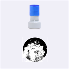 SUN-BUBBLES Rubber Round Stamps (Small) by trendistuff