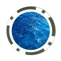 Pacific Ocean Poker Chip Card Guards by trendistuff