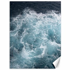 Ocean Waves Canvas 36  X 48   by trendistuff