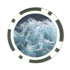 Ocean Waves Poker Chip Card Guards by trendistuff