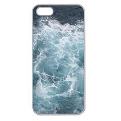 Ocean Waves Apple Seamless Iphone 5 Case (clear) by trendistuff