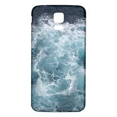 OCEAN WAVES Samsung Galaxy S5 Back Case (White) by trendistuff