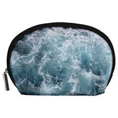 Ocean Waves Accessory Pouches (large)  by trendistuff