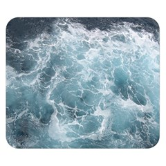 Ocean Waves Double Sided Flano Blanket (small)  by trendistuff
