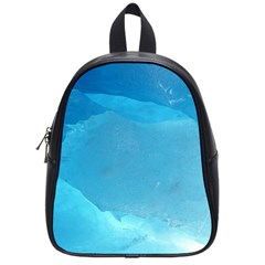 Light Turquoise Ice School Bags (small)  by trendistuff