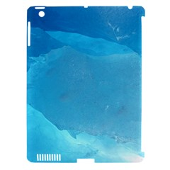 Light Turquoise Ice Apple Ipad 3/4 Hardshell Case (compatible With Smart Cover) by trendistuff
