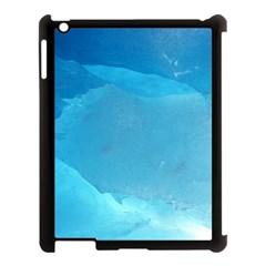 Light Turquoise Ice Apple Ipad 3/4 Case (black) by trendistuff