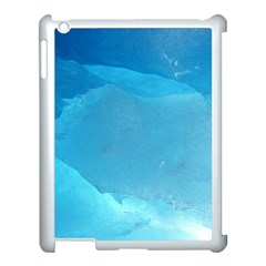 Light Turquoise Ice Apple Ipad 3/4 Case (white) by trendistuff