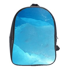 Light Turquoise Ice School Bags (xl)  by trendistuff
