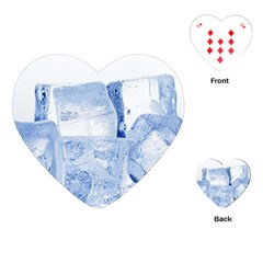 ICE CUBES Playing Cards (Heart)  by trendistuff
