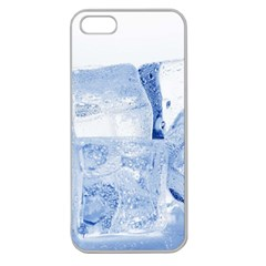 Ice Cubes Apple Seamless Iphone 5 Case (clear) by trendistuff