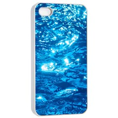 Light On Water Apple Iphone 4/4s Seamless Case (white) by trendistuff