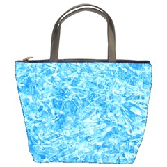 Blue Ice Crystals Bucket Bags by trendistuff