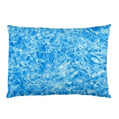Blue Ice Crystals Pillow Cases (two Sides) by trendistuff