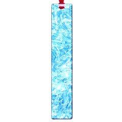 Blue Ice Crystals Large Book Marks by trendistuff