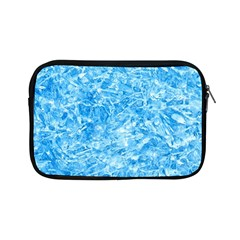 Blue Ice Crystals Apple Ipad Mini Zipper Cases