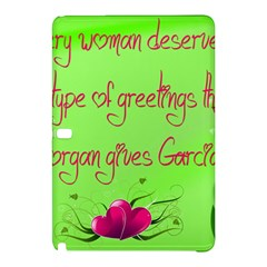 Garcia s Greetings Samsung Galaxy Tab Pro 12 2 Hardshell Case by girlwhowaitedfanstore
