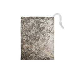 Weathered Grey Stone Drawstring Pouches (small)