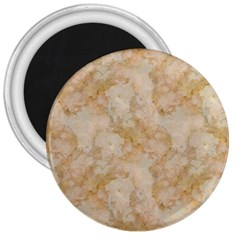 Tan Marble 3  Magnets by trendistuff