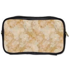 Tan Marble Toiletries Bags 2 Side by trendistuff
